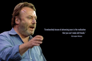 """Christopher Hitchens: """"The Empowerment Of Women Is The Only Cure For ..."""