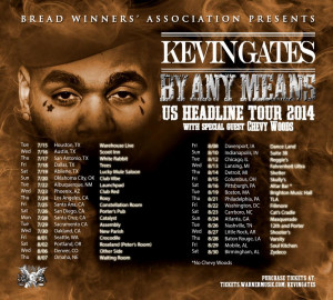 Kevin Gates Announces By Any Means Tour Dates, Stops In Boston August ...