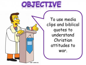 To use media clips and biblical quotes to understand Christian ...