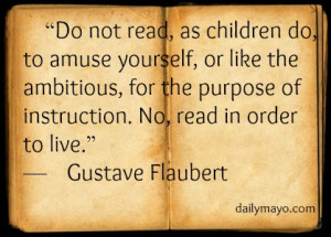 Quote: Gustave Flaubert