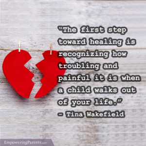 ... with a Broken Heart: Are You Estranged from Your Child? #parenting