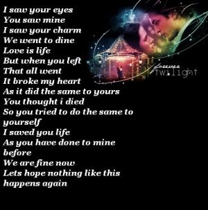 Random Twilight Poem - kristina730 Fan Art