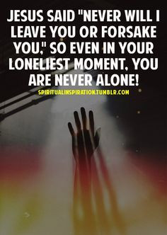 You are never alone by yourself even if you think you are! This is ...