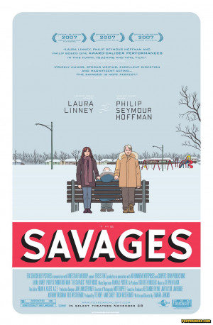 The Savages movie poster