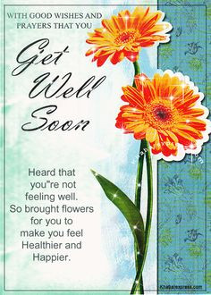 Get Well Soon Messages Religious | With good wishes and prayers that ...