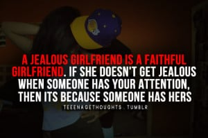 Jealous Girlfriend Quotes Tumblr