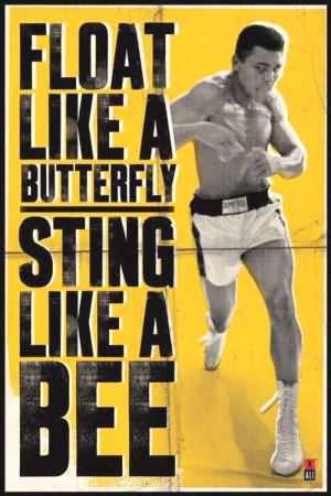 Muhammad Ali   Motivational Poster 1