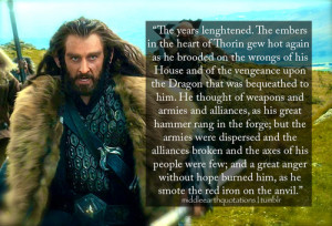 Thorin Oakenshield Quotes