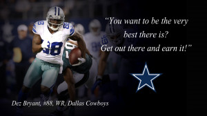 Dez Bryant Quotes Wallpaper PC Wallpaper with 1600x900 Resolution