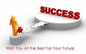 Wish you all the best for success