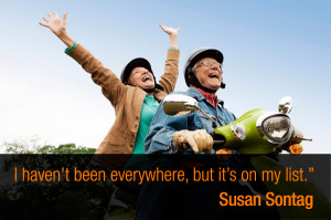 """haven't been everywhere, but it's on my list."""" – Susan ..."""