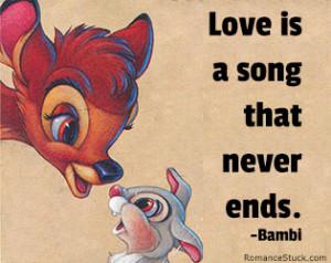 Amazing Disney Love Quotes