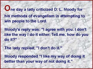 Great Quote from D.L. Moody