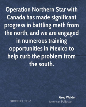 Operation Northern Star with Canada has made significant progress in ...