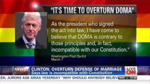 CNN Promotes Clinton's 'Surprising' Pro-Gay Marriage Op-Ed