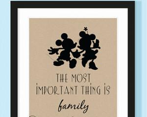 Mickey and Minnie Walt Disney Quote Print - Buy ANY 2 Prints Get 1 ...