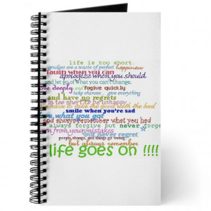 COLERED 12 STEP SAYINGS Journal