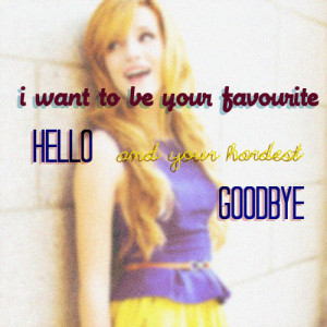bella thorne quote
