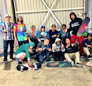 ... FaceTime Call With A Fan While At Paul Rodriguez' Private Skate Park