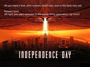 Funny Independence Day Movie Quotes