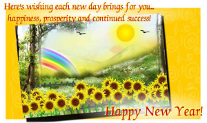 New Year Wishes….