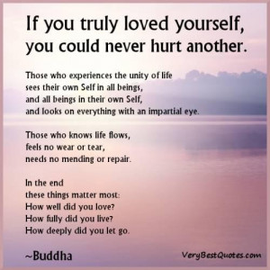 Buddhist quotes love life
