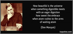 how beautiful is the universe when something digestible meets with an ...