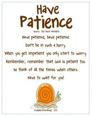 Bible Verses About Patience with Commentary