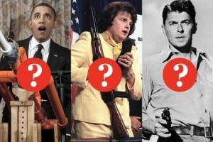 Identify the Gun-Control Quote: Obama, Feinstein, or Reagan? Take the ...