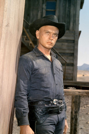 Yul Brynner As Chris Adams In The Magnificent Seven 1960