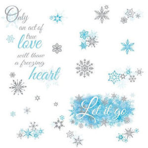 Disney-FROZEN-SONG-QUOTE-LET-IT-GO-wall-stickers-26-glitter-decals ...