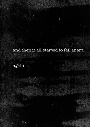 depressed depression sad quotes white hurt anxiety black scream broken ...