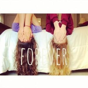 ... s2.favim.com/610/140721/best-freinds-blond-brunette-forever-Favim