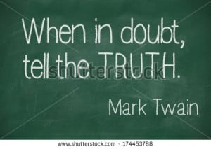 famous Mark Twain quote