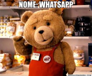 nome: whatsapp - Ted Engraçado