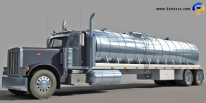 Model American Tanker Truck