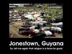 Jim Jones loved Jesus too.... More