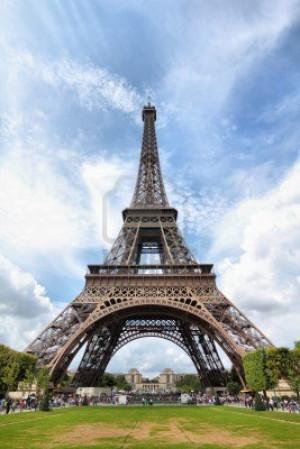 Eiffel Tower Tour Paris France
