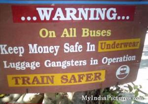 Keep Money Safe in Underwear Funny