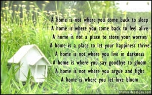 Congratulations On Your New Home Messages New home card poem