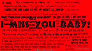 miss you Baby by BrettArtandStyles