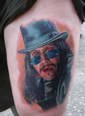 Dracula Bram Stoker Tattoo