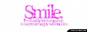 Cute Smile Quote Facebook