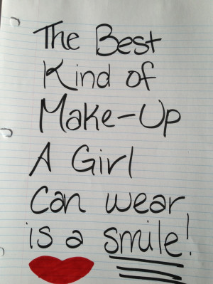 Cute Quote!:) makes girls feel good!