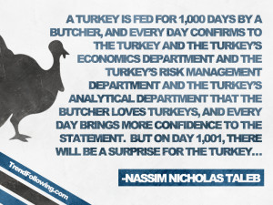 Nassim Taleb Quote: What Does a Turkey Have in Common With the Stock ...