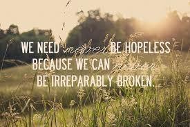 hopeless…