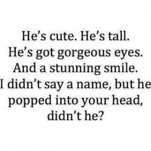 he's cute.....