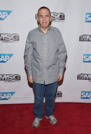 Gilbert Gottfried Comedian Gilbert Gottfried attends MSG Networks