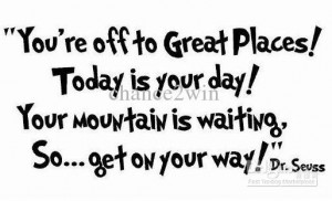 Seuss Quote Today You Are
