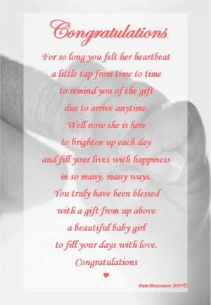 baby girl poems and quotes
